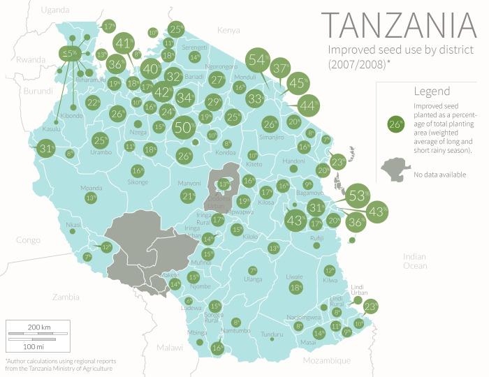 Tanzania Seed Map
