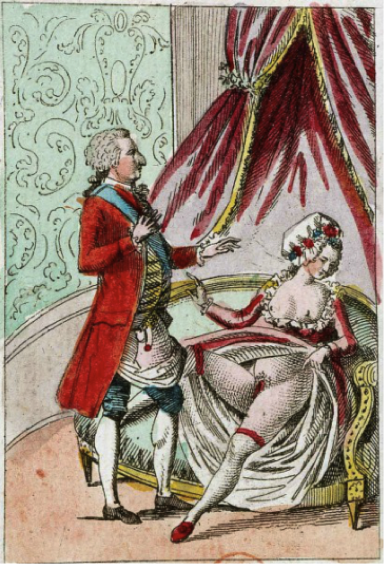 the empress has no clothes the political pornography of marie figure 3 a despondent marie antionette waves away a flaccid louis xvi from bibliotheque